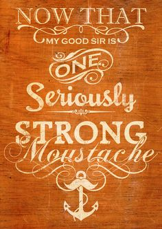 strong #moustache