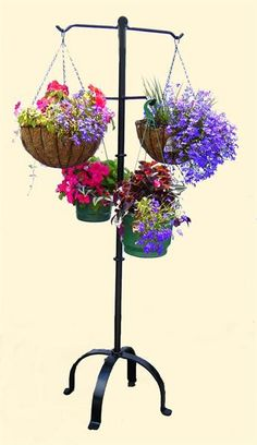 hanging basket stand Iron Design