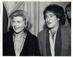 Rita Hayworth & Robin Williams