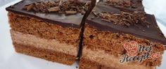 Recept Výborný čokoládový zákusek Czech Recipes, Ethnic Recipes, Hungarian Desserts, Cake Flavors, Vanilla Cake, Nutella, Tiramisu, Food And Drink, Cookies
