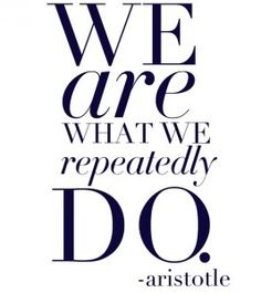 You are what you repeatedly do-Authentic Transformation in 100 days-Video Blogging Challenge -Day 48