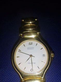 Zenith Academy Automatic 21 jewels ETA 2892-2, DATE,VINTAGE, ORIGINAL, GORGEOUS