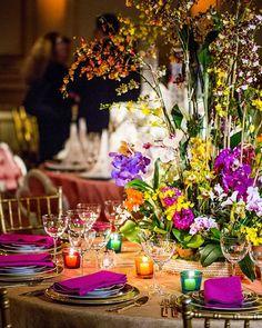 The New York Botanical Garden 2016 Orchid Dinner, where Ralph Lauren Home hosted a table with Veranda Magazine