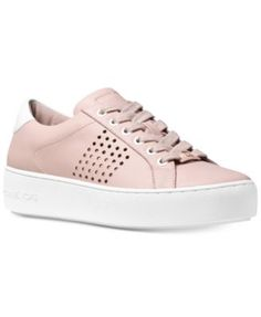 MICHAEL Michael Kors Poppy Lace-Up Sneakers | macys.com