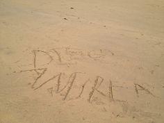Lanzarote 2012 - dibujos en la arena