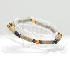 """Pure Hazelwood and Gemstone Bracelet - 6"""" (Ages 6+)"""