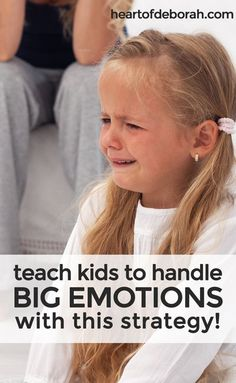 How to Help Kids Express Big Feelings! It's not easy when your child has a public meltdown. Here is a specific strategy for parents to teach their kids who haveBIG emotions. Find an appropriate way to express negative emotions by usingI-Statements.