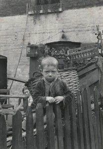 Horace Warner ... A Spitalfields boy around 1900.
