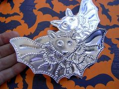 Bali Bat Aluminium DIY Halloween Garland Ornament 10pc by Indounik