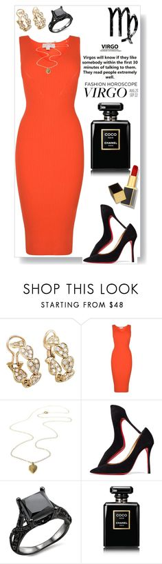 """""""Virgo Sophistication"""" by perezbarrios on Polyvore featuring Cartier, MICHAEL Michael Kors, Christian Louboutin, Chanel and Tom Ford"""