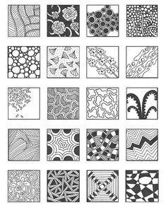 Zentangle Patterns: #Zentangle Patterns