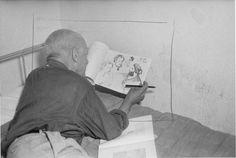 * Pablo Picasso - photo Alex Liberman (1912-1999) © Getty