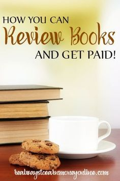 Heres a list of ways to review books at home and possibly earn money, or free books.