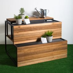 Steel Wood On Pinterest Contemporary Outdoor Furniture