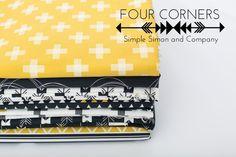 Four Corners Fabric Line - Simple Simon and Company