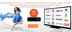 #DISHTV is the best DTH service provider in India Offers the best channel packages #HD Packs recharge offers 400 DTH Channels and much more attractive offers available at www.comparedth.com Dish Tv, Digital Tv, Channel, Entertaining, How To Plan, Connection, Stuff To Buy, India, Life