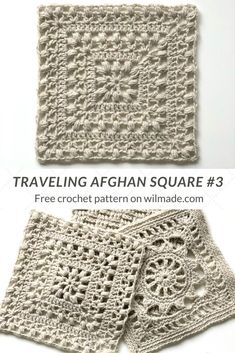 Crochet Afghan Square - Tulips from Holland by Wilmade - This Afghan Crochet Square is part of Lion Brand's Traveling Afghan Project. It's inspired by m - Crochet Squares Afghan, Granny Square Crochet Pattern, Crochet Stitches Patterns, Crochet Afghans, Crochet Motif, Knitting Patterns, Knit Crochet, Crochet Blankets, Crochet Blocks