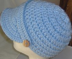 Crocheted hat/cap fit head size 2123 inches by TheCatmeow2000, $10.00