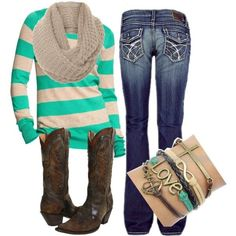 Girly Country, created by small-town-country-gurl on Polyvore