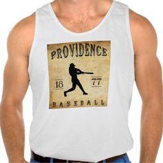 1877 Providence Rhode Island Baseball Tanktop Tank Tops