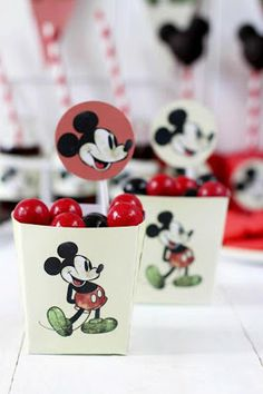 Karas Party Ideas Vintage Mickey Collection by Postre Adiccion - free printable