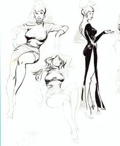 John Buscema Sketches - Bing Images