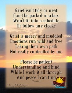 Grief is messy | The Grief Toolbox