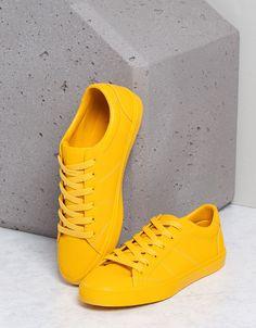 Bamba Monocolor Chico - Zapatos - Bershka Mexico
