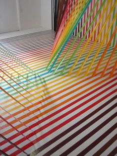 1000 Images About Quot Artistic Uses Of Floor Tape Quot On