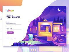 Login Page for Obiwo by Nugraha Jati Utama