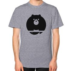 Bear Unisex T-Shirt (on man)
