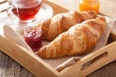 Frühstücks-Croissants