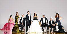 Well doesn't the cast of #Scandal clean up nice? We are loving this glamorous season 4 cast photo!