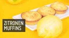 Zitronenmuffins - Ohne Getreide, weißen Zucker und Laktose. Genau das richtige Dessert für den Sommer: Einfache Zitronenmuffins mit Kokosöl und Honig.