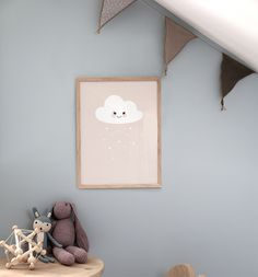 Cloud Pink, plakat