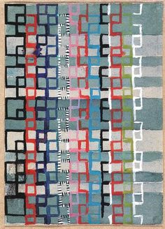 Gunta Stölzl , Wall Hangings and Fabrics, Bauhaus, 1925-1931 Gunta Stölzl's Designs for Jacquard Wall Hangings and Fabrics, Bauhaus Dessau, 1925-1931