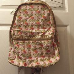 Lesportsac small backpack Small floral print LeSportsac backpack LeSportsac Bags Backpacks