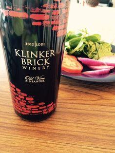 Holy Grail Zinfandel. Klinker Brick Zinfandel wine pairing with BBQ pulled chicken sliders.