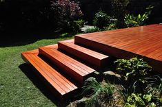 Image result for timber decking stairs section