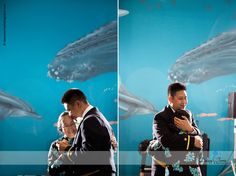 Virginia Aquarium Wedding | Mother & Son Dance | Daissy Torres Photography