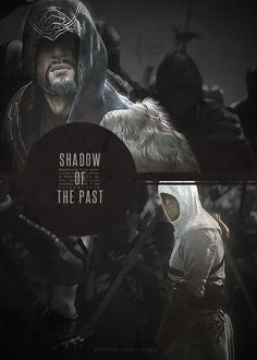 Ezio Auditore da Firenze and Altaïr Ibn-La'Ahad Assassins Creed Quotes, Connor Kenway, Arno Dorian, All Assassin's Creed, The Darkest, The Past, Video Game Quotes, Gaming, Albino