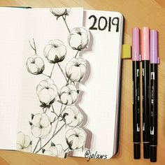 Lovely, simple and elegant 2019 floral bullet journal layout. The delicate flowers put a lovely touch of Spring into the bullet journal. Find more inspiration over at Twinkl . Lovely, simple and ele Bullet Journal 2019, Bullet Journal Books, Bullet Journal Inspo, Bullet Journal Layout, Bullet Journal Ideas Pages, Journal Pages, Journal Inspiration, Bullet Journal Aesthetic, Journal Covers