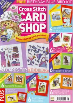 Cross Stitch Tree, Cross Stitch Boards, Mini Cross Stitch, Cross Stitching, Cross Stitch Embroidery, Cross Stitch Patterns, Magazine Cross, Paper Crafts Magazine, Cross Stitch Magazines