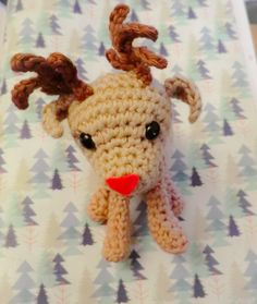 Its getting very close to Christmas now and today I have a pattern for you that is a lovely little amigurumi reindeer. This little guy was ...