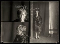 Mugshots from the 1920s: A. Lee, 1930 (?), arrested for prostitution.