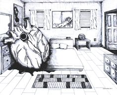 """I forgot my heart in your room"" by Jasleni drawing My Heart, Naked, Drawings, Prints, Room, Sketches, Draw, Drawing, Pictures"