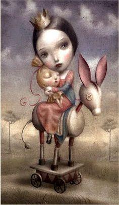 The Chariot - Nicoletta Ceccoli Tarot
