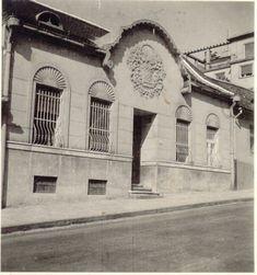 1939. Rómer Flóris (akkor Zárda) utca 8. Ennek helyén áll a ll. kerületi rendőrség.