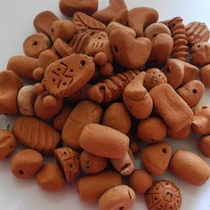 Art by Jen G: Handmade terracotta beads