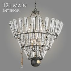 Troy-CSL Lighting Inc. Chandelier made of beer bottles. Perfect for the man  sc 1 st  Pinterest & Troy-CSL Lighting Inc. :: | DIY Projects | Pinterest | Troy ... azcodes.com